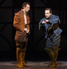 From L: Josh Grisetti and Rob McClure. © Joan Marcus