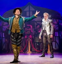 From L: Rob McClure, Adam Pascal and the cast of the Something Rotten! National Tour. © Jeremy Daniel