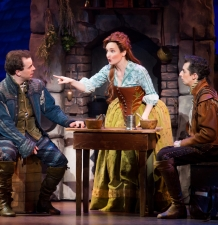 From L: Rob McClure, Maggie Lakis and Josh Grisetti. © Jeremy Daniel